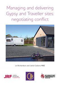 JRF CIH Gypsies Travellers cover