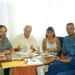 Klaus Meyer in Cuba in 2001 Photo: Werkhof, Darmstadt