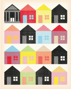 houses - image by Andrew Holder NYT