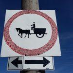 Street sign in San Diego, Pinar del Rio, Cuba