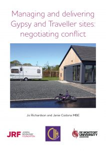 JRF CIH Gypsies Travellers cover