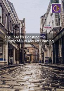 The Case for Boosting the Supply of Sub Market Housing