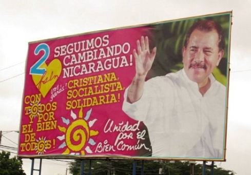 Ortega Election Poster, 2011