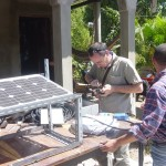 Solar electricity – keeping people connected