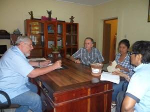meeting with Masaya mayor