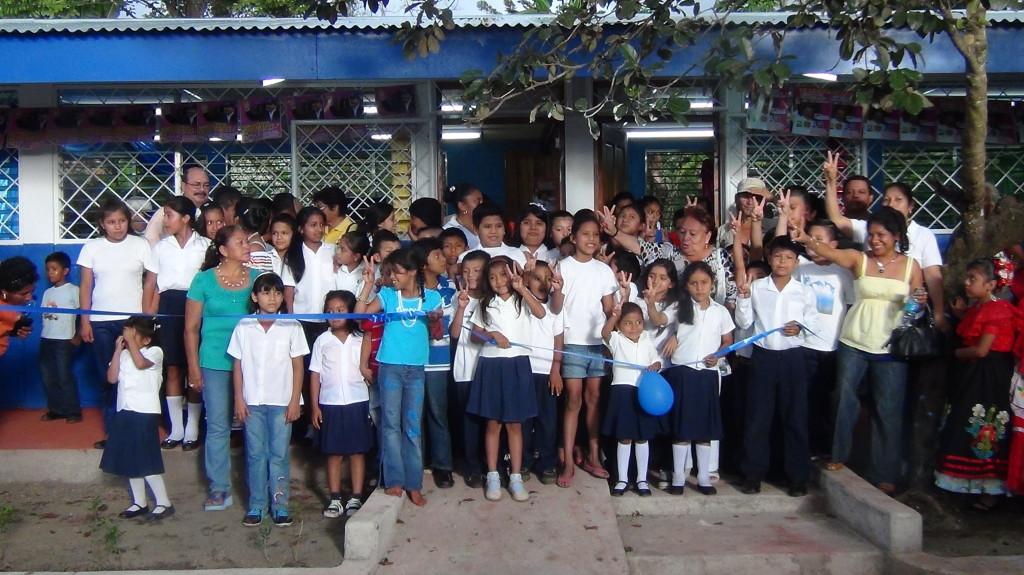 El Pochote school opening