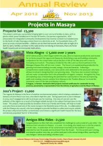 Annual review Apr 2012 - Nov 2013