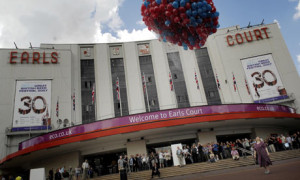 The redevelopment of Earls Court will demolish 760 homes as well as the famous exhibition centre. Photograph: Sarah Lee