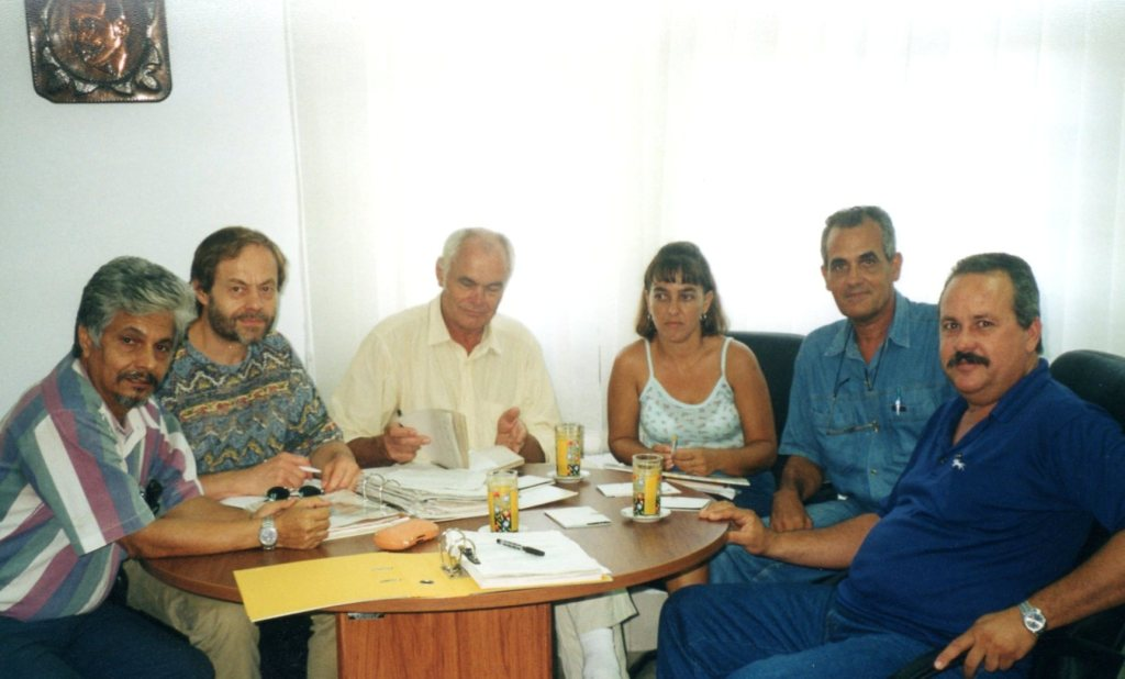 Klaus Meyer in Cuba in 2001 Photo: Werkhof, Darmstadt