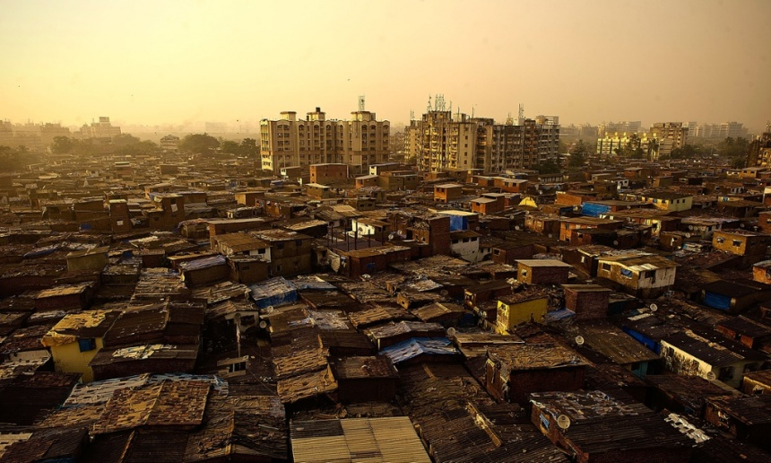 Dharavi in Mumbai is usually considered to be Asia's largest slum, with a million people living and working in just under a square mile. Photo: Bethany Clarke/Getty Images