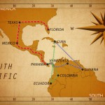 Overland from Cuba to Texas