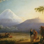 Humboldt travelling towards Chimborazo volcano in Ecuador (Image: BPK/SPSG, Berlin-Brandenburg/Hermann Buresch)