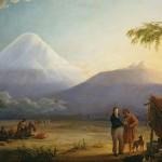 Humboldt travelling towards Chimborazo volcano in Ecuador (Image: BPK/SPSG, Berlin-Brandenburg/Hermann Buresch)