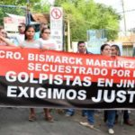 Bismarck Martinez demand justice for his murder