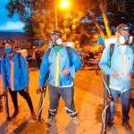 """Members of the 300-strong sanitation squad who work for the Managua city council"", from www.el19digital.com"