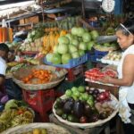 A short interlude in one of Nicaragua's local markets